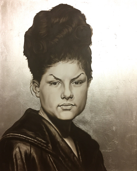 Morin Woman in Leather